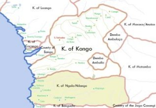 Kingdom of Ndongo ~ This file is licensed under the Creative Commons Attribution-Share Alike 2.5 Generic license