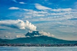 This image of Mount Nyiragongo file is licensed under the Creative Commons Attribution-Share Alike 3.0 Unported license. Attribution: Ishidro at the German language Wikipedia