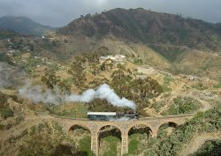 Eritrea railway: This file is licensed under the Creative Commons Attribution-Share Alike 3.0 Unported license