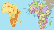 African Map Game