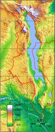 Malawi Topography