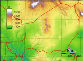 Niger Topography