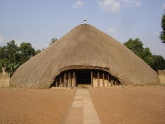 Kasubi Tombs Kampala: This file is licensed under the Creative Commons Attribution-Share Alike 2.0 Generic license